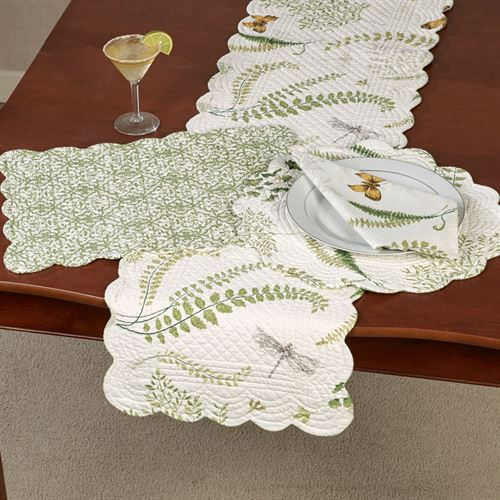 Althea Table Runner Light Cream 14 x 51