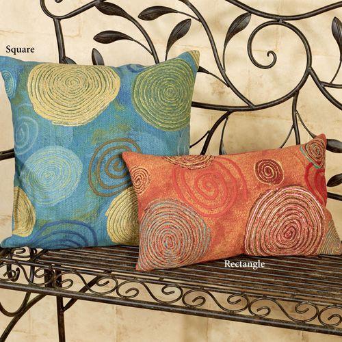 Graffiti Swirl Pillow Rectangle