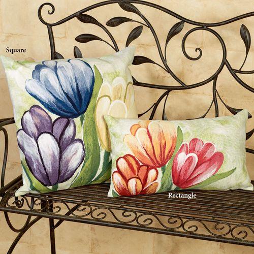 Tulips Pillow Rectangle