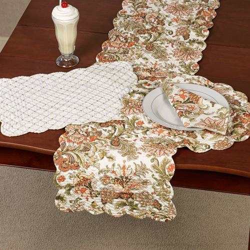 Jocelyn Table Runner Multi Warm 14 x 51