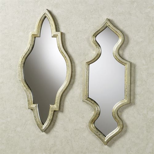 Graceleigh Wall Mirror Set Gold Set of Two