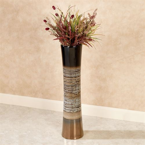 Axel Floor Vase Multi Metallic