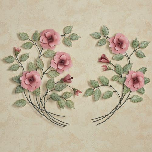 Les Fleurs Rose Spray Sculpture