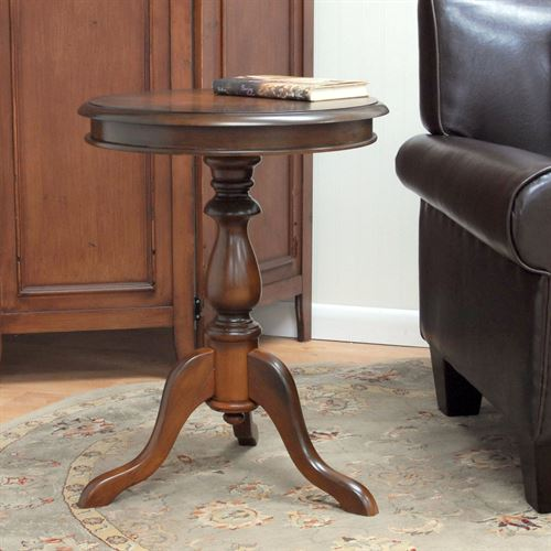 Bishop Accent Table Chestnut