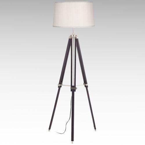 Telescoping Tripod Floor Lamp Espresso