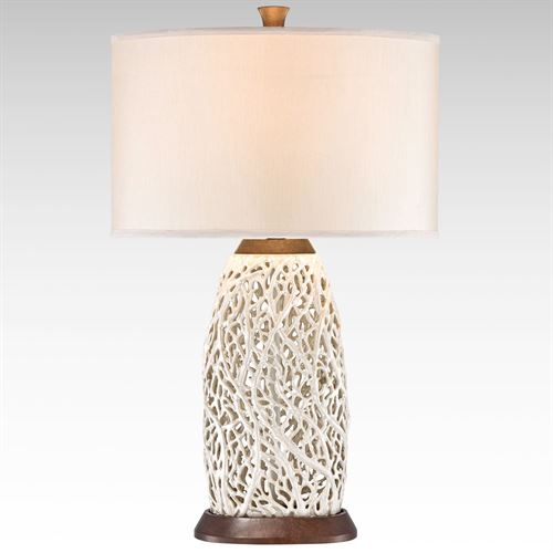Enchanted Coral Table Lamp Pearl