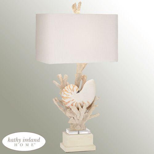 Hanauma Bay Table Lamp Natural