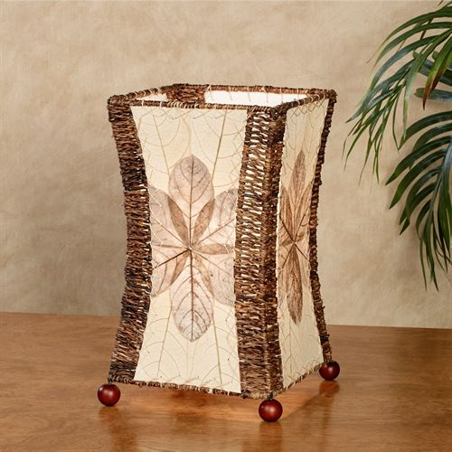 Brunei Hourglass Accent Lamp Natural