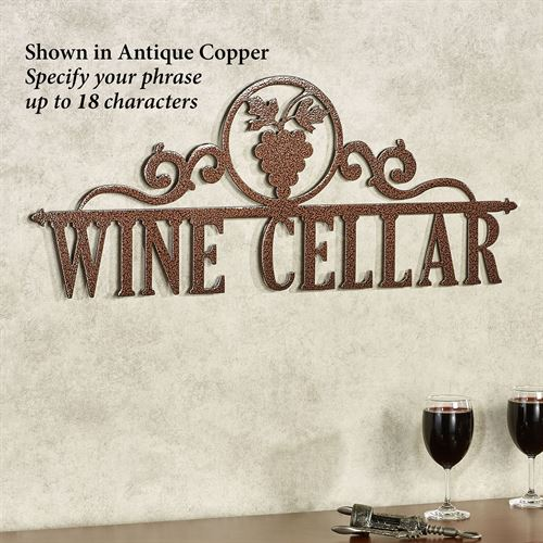 Occasions Personalized Wall Art Sign Grapes