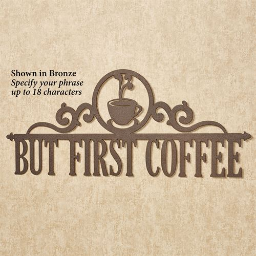Occasions Personalized Wall Art Sign Coffee