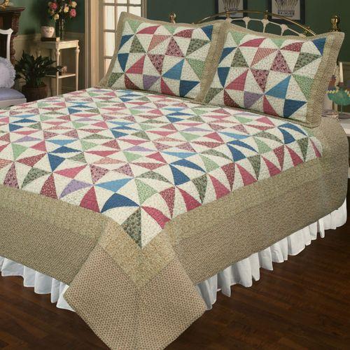 Playful Pinwheel Quilt Multi