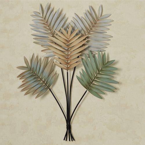 Palm Leaf Arrangement Wall Art Multi Earth