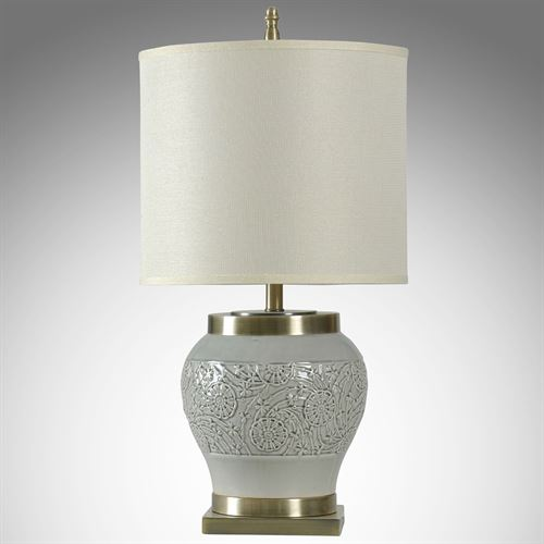 Lindi Table Lamp Oyster