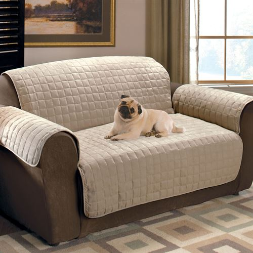 Faux suede pet furniture covers for sofas loveseats and - Foros para sofas ...