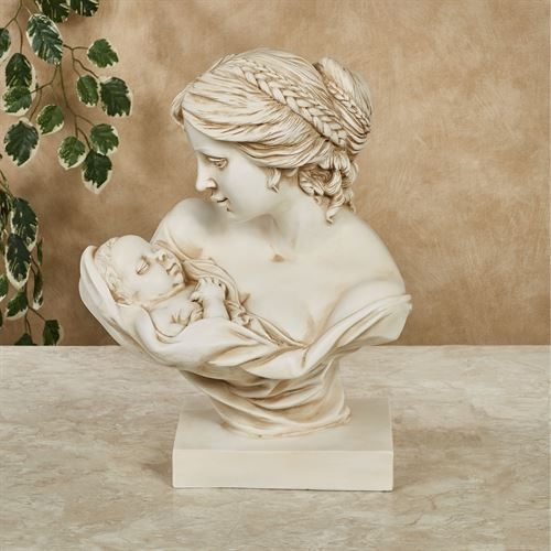 Mothers Love Table Sculpture Ivory