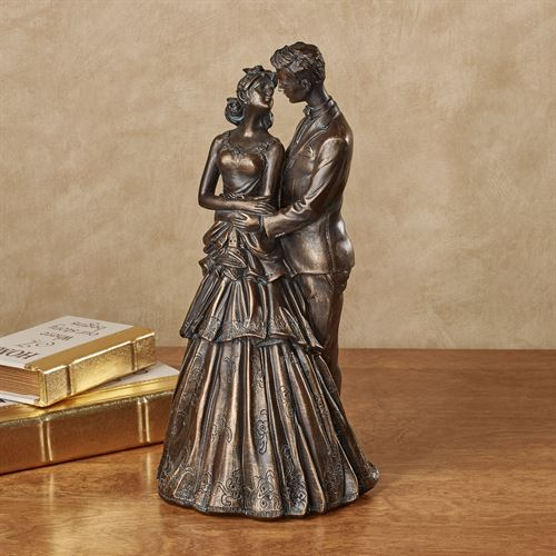 Love of My Life Table Sculpture Bronze