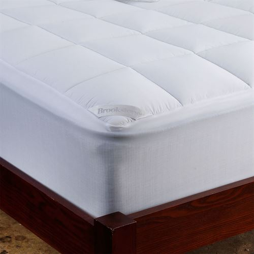 Brookstone Mattress Pad White
