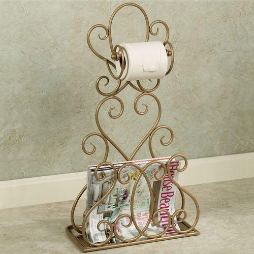 Gianna Toilet Paper Magazine Rack