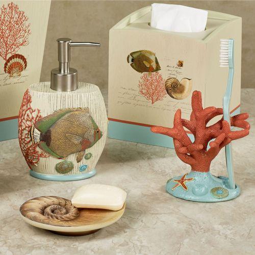 Seaside Vintage Lotion Soap Dispenser Cream