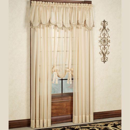 Lucky Stripe Tailored Curtain Panel  60 x 84