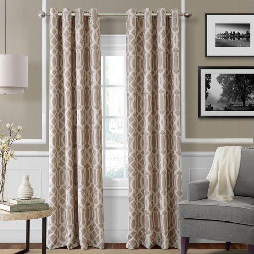 Harpar Grommet Curtain Panel