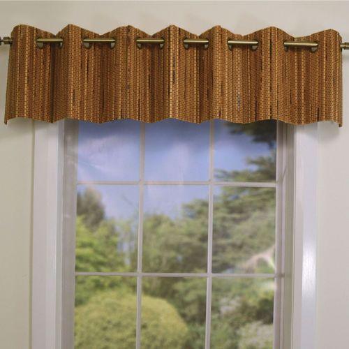 Bamboo Grommet Valance 72 x 12
