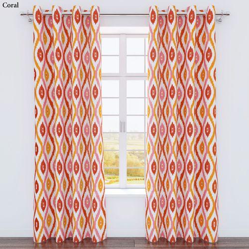 Luna Grommet Curtain Panel 54 x 84