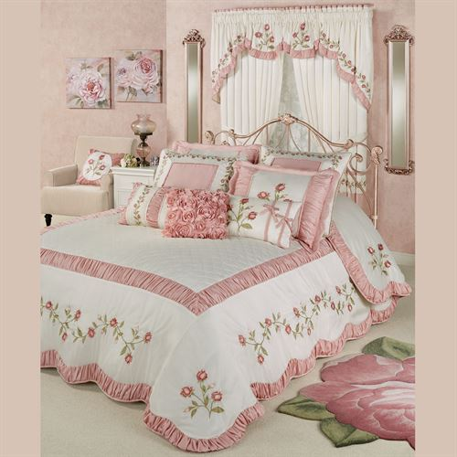 Blush Rose Grande Bedspread