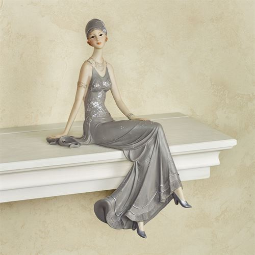 Alluring Beauty Shelf Sitter Gray