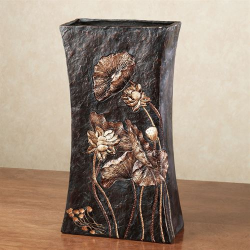 Deep Woods Table Vase Black