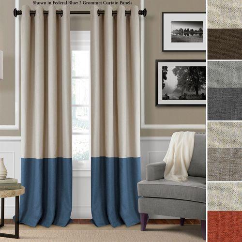 Braiden Grommet Curtain Panel