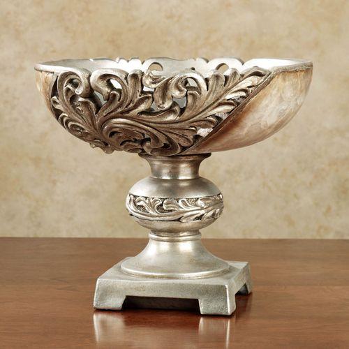 Appollonia Centerpiece Bowl Platinum