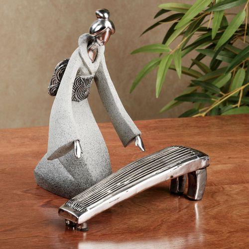 Aikas Love Song Figurine Set Gray Set of Two