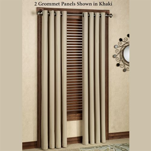 Nantucket Grommet Curtain Panel