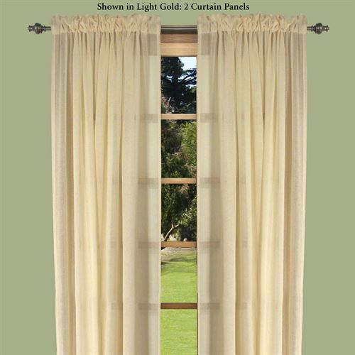 Lucerne Semi Sheer Curtain Panel