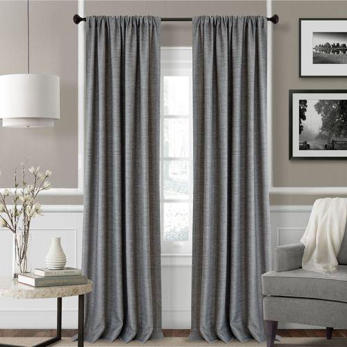 Pennington Wide Tailored Curtain Pair