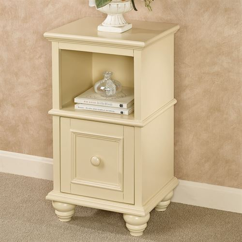 McKale Pale Yellow Accent Table