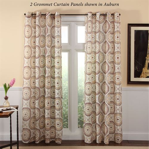 Melina Grommet Curtain Panel 56 x 84
