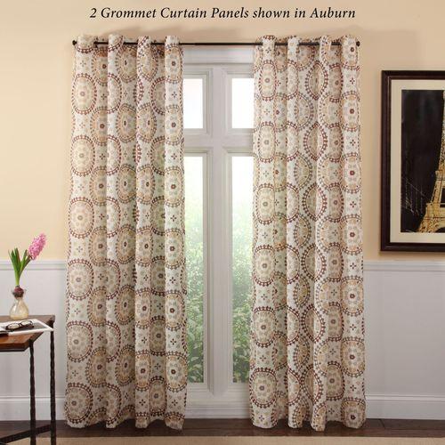 Melina Grommet Curtain Panel 56 x 84