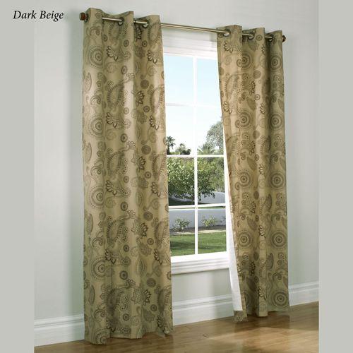 Plymouth Grommet Curtain Pair