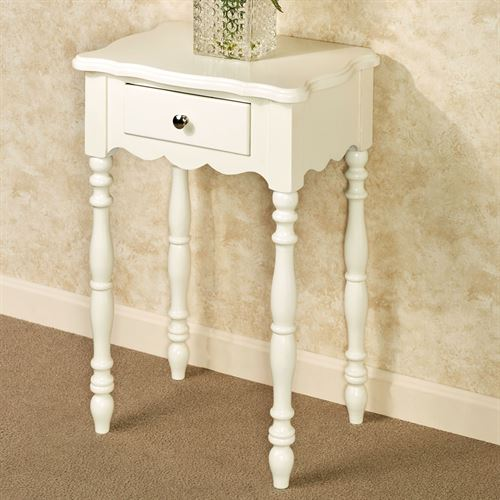 Fiana Accent Table Ivory
