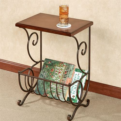 Lizzie Magazine Table Natural Cherry