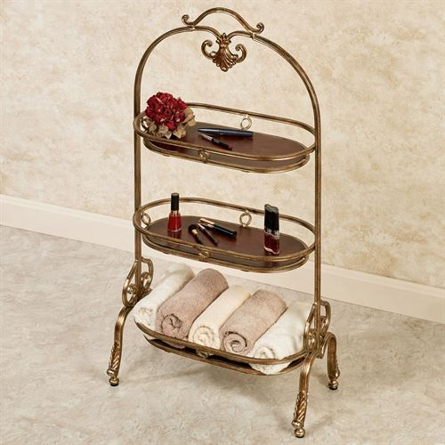 Stratton Floor Stand Bronze