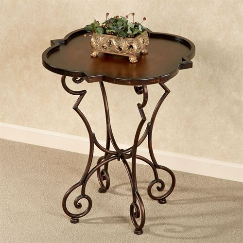 Julissa Accent Table Autumn Cherry