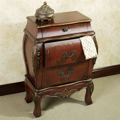 Marilee Wooden Bombe Chest