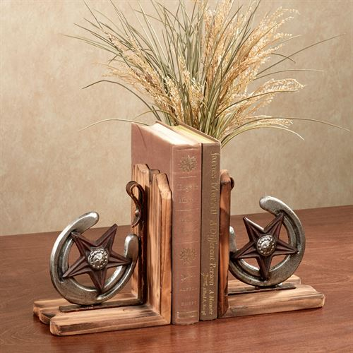 Western Star Bookends Multi Warm Pair