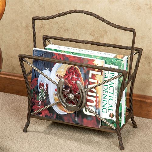 Western Star Magazine Holder Multi Warm