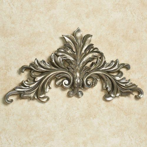 Alessio Wall Topper Antique Silver