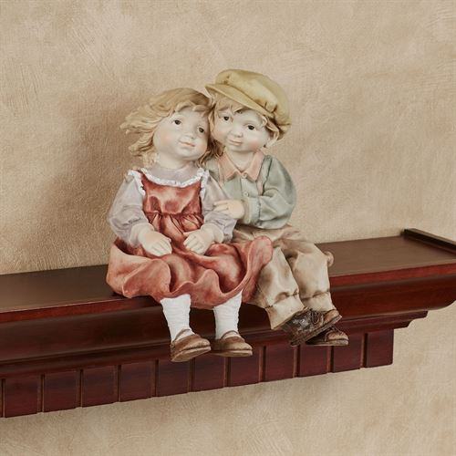 Young Love Shelf Sitter Figurine Multi Pastel