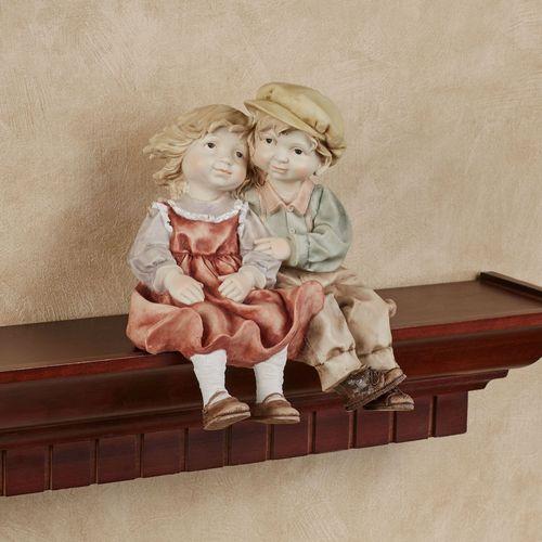 Young Love Shelf Sitter Figurine Multi Pastel